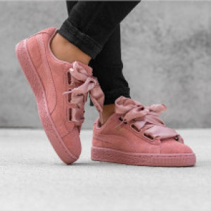 Puma Suede Heart Satin II WNs Cameo Brown Cameo Brown