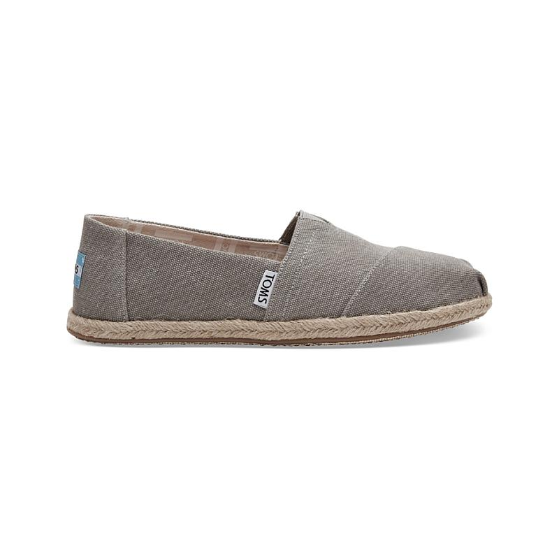 Toms Drizzle Washed Canvas Esparilles 10009754