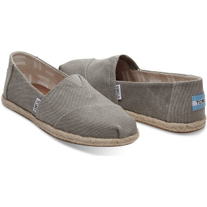Toms Drizzle Washed Canvas Esparilles 1