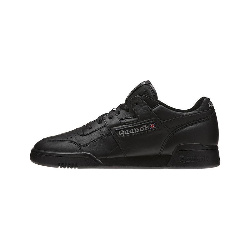 Reebok Workout Plus Vintage Black Carbon Classic Red