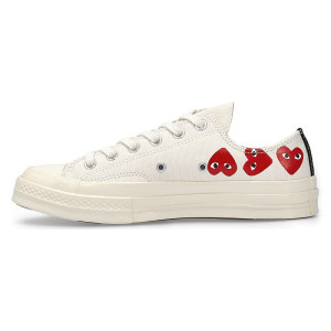 Converse Chuck Taylor All 70S Ox Comme DES Garcons Play Heart 1