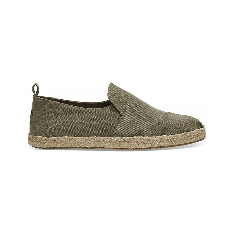 Toms Washed Canvas Deconstructed 10011624