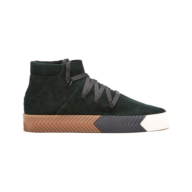 Adidas Alexander Wang Skate Mid  Green Night AC6851