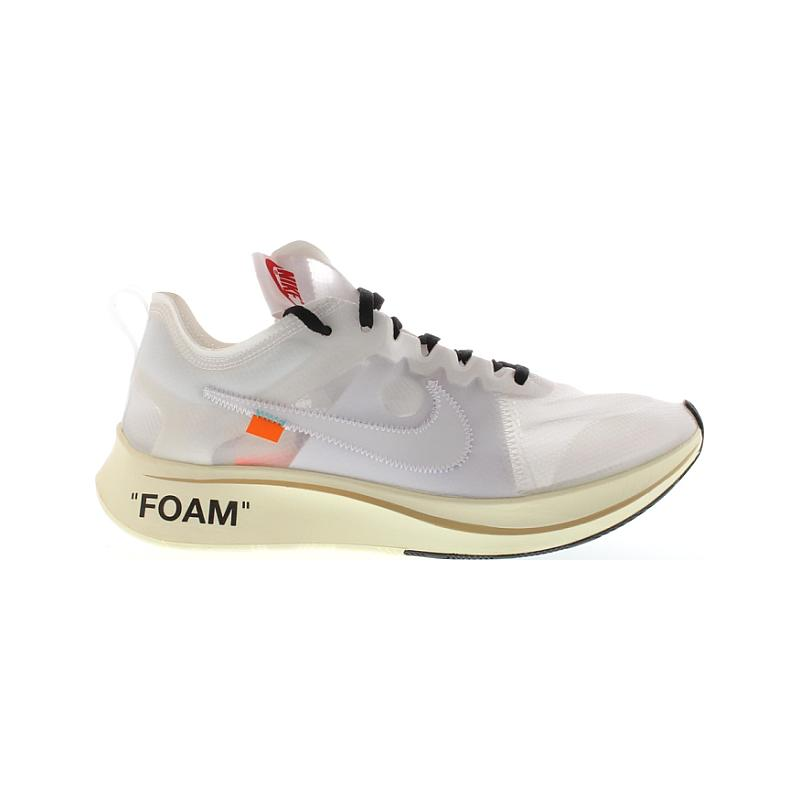 Nike X Off Zoom Fly Virgil Abloh The 10 Ten AJ4588-100