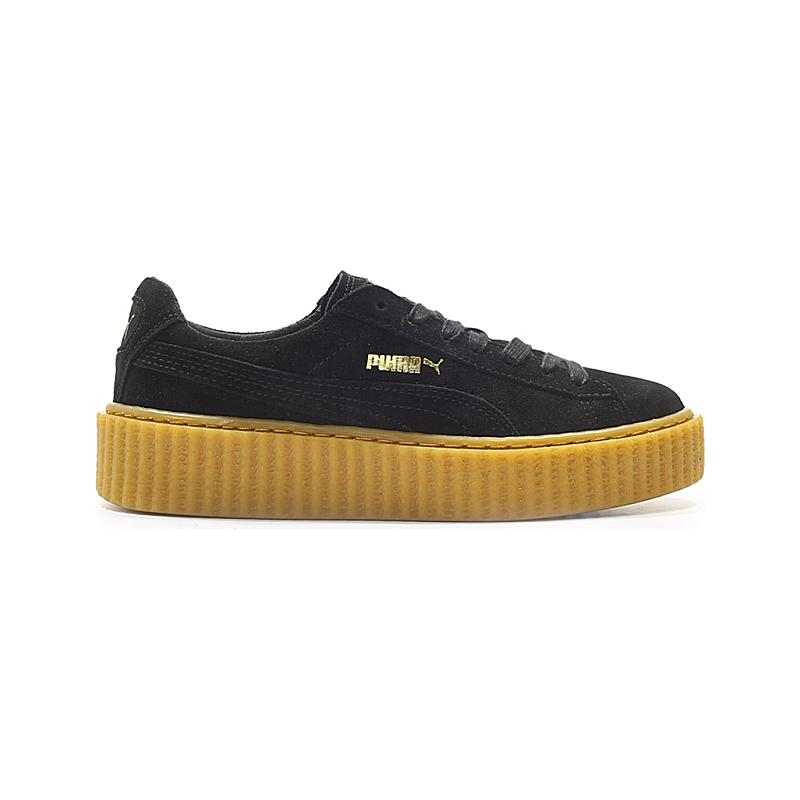 sneakers for cheap 543ac 70328 Puma Women's Rihanna Suede Creeper 361005-02