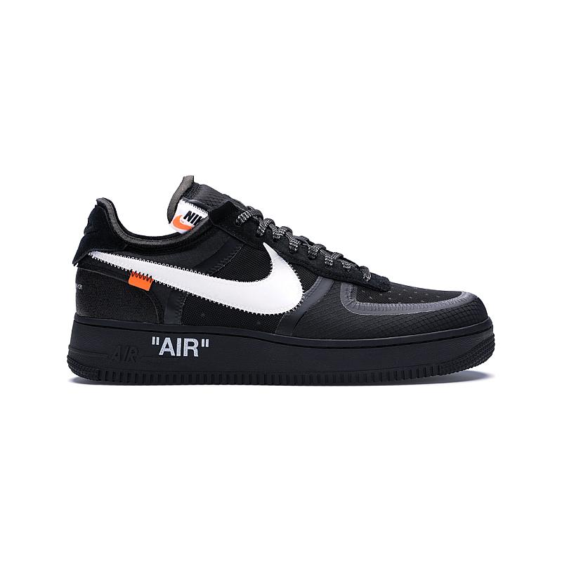 """Nike x Off-White """"Virgil Abloh"""" Air Force 1 Low AO4606-001"""