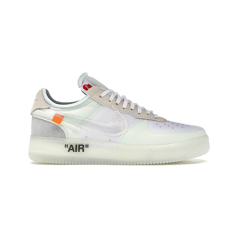 cheap for discount 87e9b 3cb6a Nike x Off-White Air Force 1 Low Virgil Abloh The 10 Ten