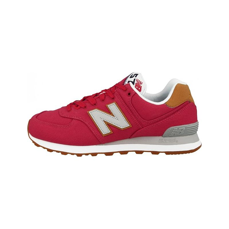 new style 237b2 b476c New Balance ML574 YLA Team Red
