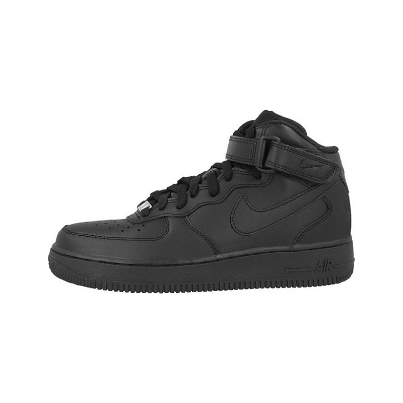 Nike Womens Air Force 1 Mid 07 LE Black
