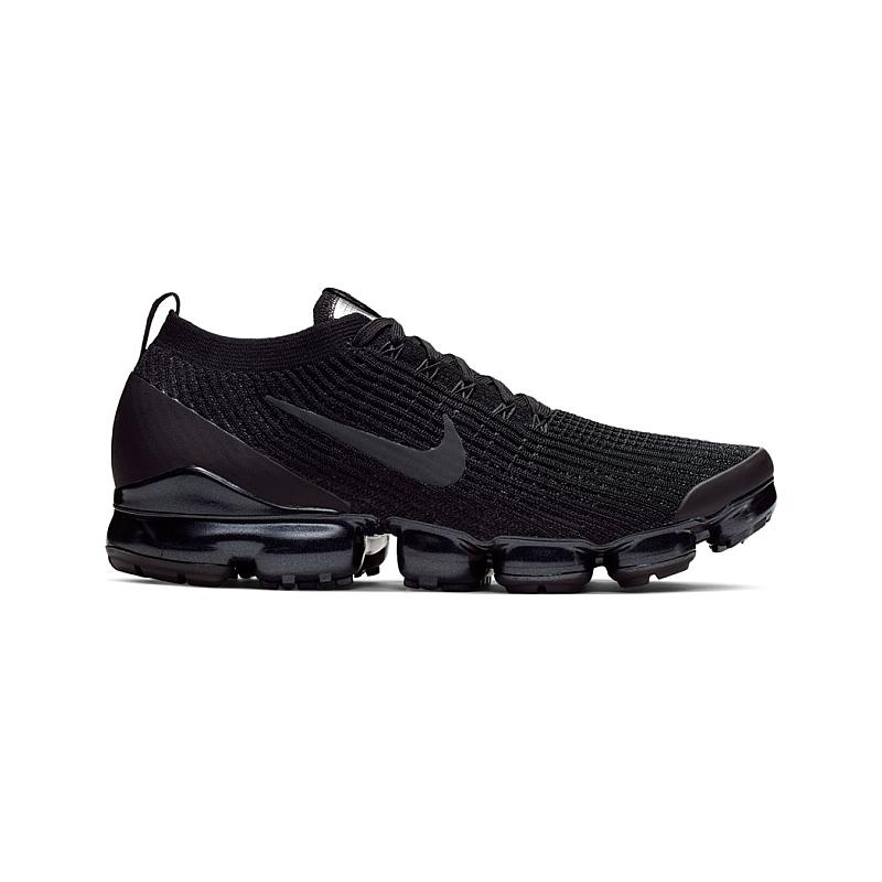 sneakers for cheap 45cd7 631b4 Nike Air VaporMax Flyknit 3.0 Triple Black