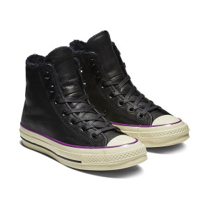Converse Chuck 70 Street Warmer Leather Top 1