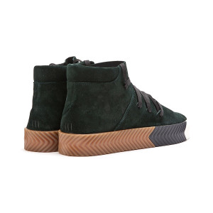 Adidas Alexander Wang Skate Mid  Green Night 2