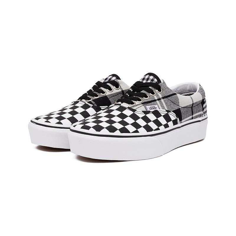 Vans Damskie UA Era Platform Plaid Checkerboard VA3WLUVYD